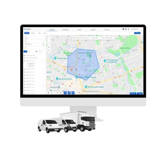 DB1 GPS Lokalizátor do auta Monitoring Poloha vozidiel