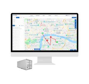 AT50 GPS Lokalizátor hnuteľného majetku Monitoring Poloha