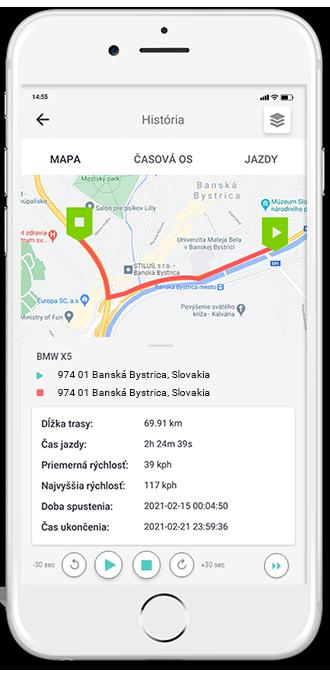 Lokalizačně systémy vozidiel