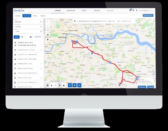 GPS lokátor Monitoring vozidiel Sledovanie polohy