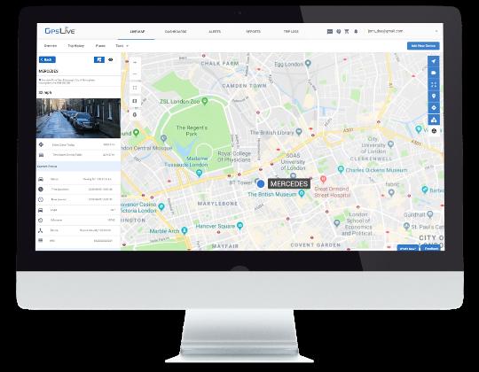 GPS lokalizácia Sledovanie polohy Monitoring vozidiel