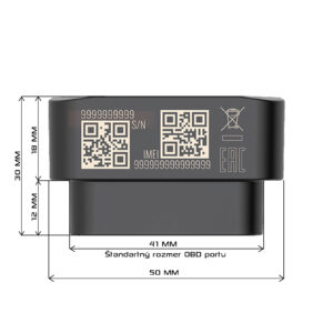 DB3 OBD Mini GPS Lokátor do auta Sledovacie zariadenie